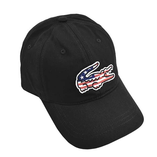 ラコラコステ RK6263 031 キャップ BKブラック帽子【】【新品/未使用/正規品】