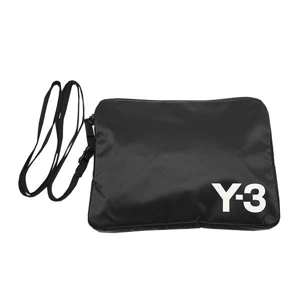 Y-3 FH9252 ポーチ BKクラッチバッグ【】【新品/未使用/正規品】