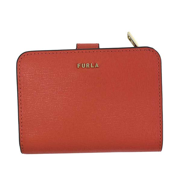フルラ 1057115 PCY0 FURLA BABYLON RED 2つ折財布レッド【】【新品/未使用/正規品】