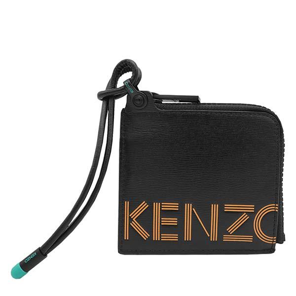 ケンゾー FA55PM223L43 KOOL KID BK 99小銭入れ コインケース財布 ブラック【】【新品/未使用/正規品】
