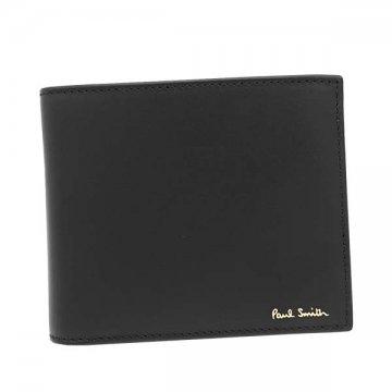 ポールスミス M1A4833 AMULTI 78 BK2つ折小銭付き財布【】【新品/未使用/正規品】