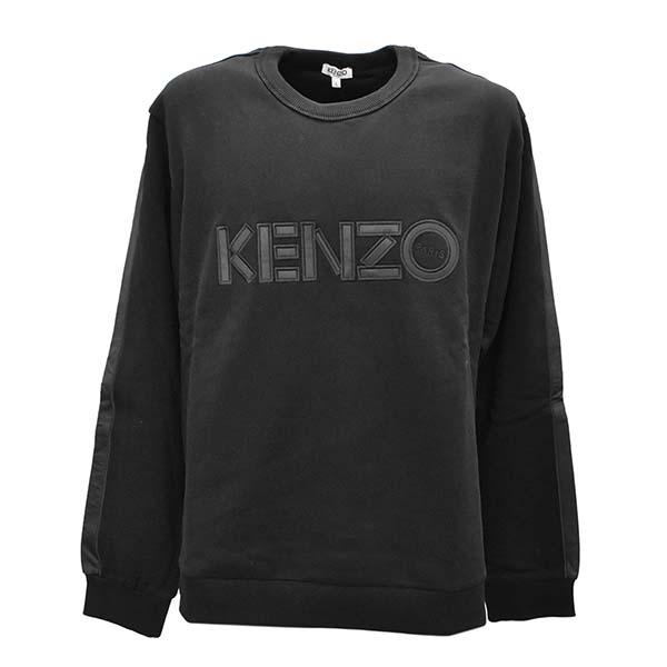 KENZO ケンゾー 5SW161-4MC-K メンズトレーナー L BK 99【】【新品/未使用/正規品】