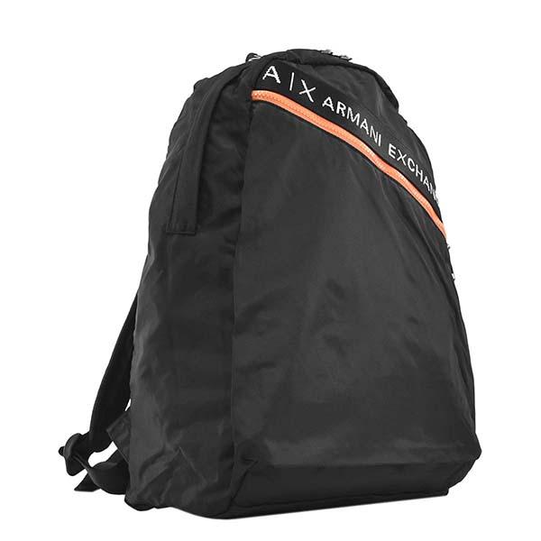 ARMANI AX アルマーニエクスチェンジ 952233 0P297 00020 バックパック BKブラックリュック【】【新品/未使用/正規品】