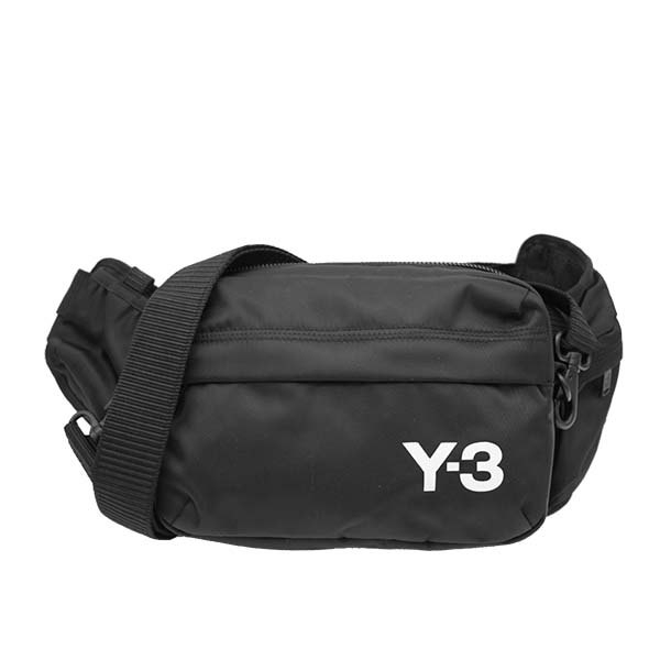 Y-3 FQ6964 ベルトバッグ BKブラック ボディバッグウエストポーチ【】【新品/未使用/正規品】
