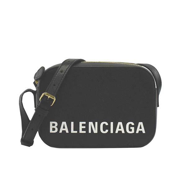 バレンシアガ 558171 1IZ1M BK 1090ブラック 斜めがけショルダーバッグ【】【新品/未使用/正規品】