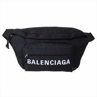 バレンシアガ BALENCIAGA 533009 HPG1X 1070 ショルダーバッグ ボディバッグ ウエストポーチ ブラック【c】【新品/未使用/正規品】