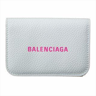 バレンシアガ BALENCIAGA 593813 1IZF3 9066 ミニ財布 ホワイト【c】【新品/未使用/正規品】