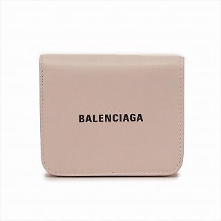 バレンシアガ BALENCIAGA 594216 1I313 5960 二つ折り財布ベージュピンクアイボリー【c】【新品/未使用/正規品】