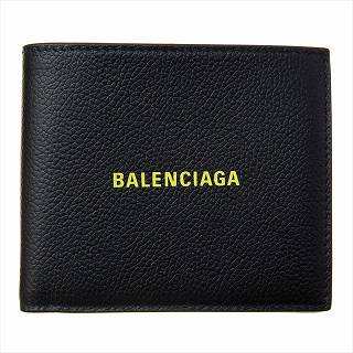 バレンシアガ BALENCIAGA 594315 1IZF3 1072 二つ折り財布ブラック【c】【新品/未使用/正規品】