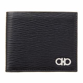 フェラガモ Ferragamo 66A065 685986 ブラックレッド財布【c】【新品/未使用/正規品】