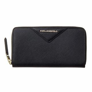 カールラガーフェルド Karl Lagerfeld 96KW3221 A997 長財布 ブラック【c】【新品/未使用/正規品】