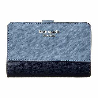 ケイトスペード kate spade PWRU7846 419ブルー 財布【c】【新品/未使用/正規品】