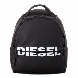 ディーゼル DIESEL X05529 P1705 T8013 バッグパックブラック リュック【c】【新品/未使用/正規品】