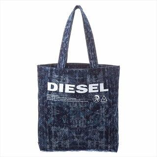 ディーゼル DIESEL X05879 P2088 T6331 トートバッグ デニム【c】【新品/未使用/正規品】