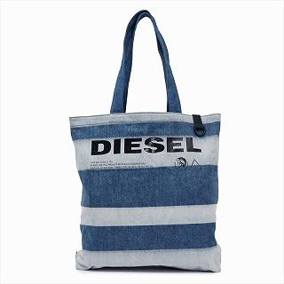 ディーゼル DIESEL X05879 P2182 H7066 トートバッグ デニム【c】【新品/未使用/正規品】