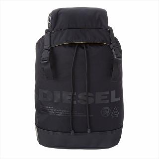 ディーゼル DIESEL X06091 P2249 H5067 バッグパックブラック リュック【c】【新品/未使用/正規品】