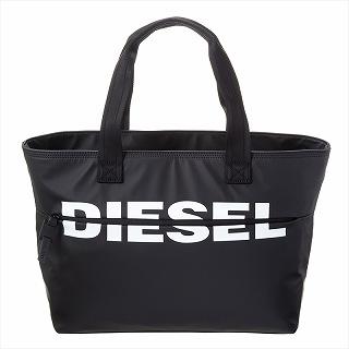 ディーゼル DIESEL X06248 P1705 T8013 トートバッグ ブラック【c】【新品/未使用/正規品】