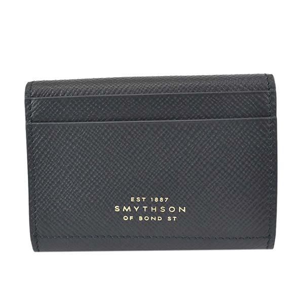 スマイソン 1026329 PANAMA NAVY 3つ折財布 ネイビー【】【新品/未使用/正規品】
