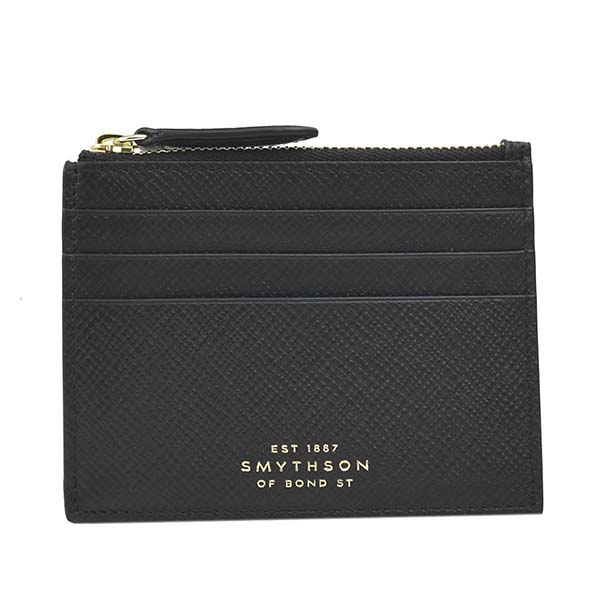 スマイソン 1026654 PANAMA BLACKブラック コインケース 小銭入れカード【】【新品/未使用/正規品】