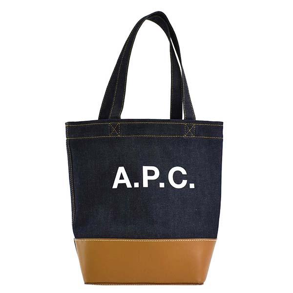 APC F61389 CODDP CAF トートバッグ CAMELデニムキャメル【】【新品/未使用/正規品】