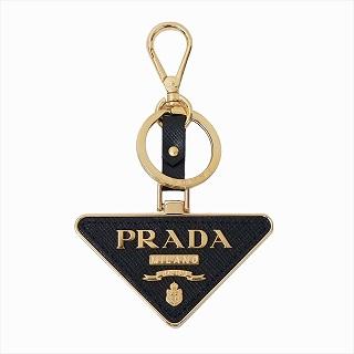 プラダ PRADA 1TL380 2EWR F0002 キーリング ブラックキーホルダー【c】【新品/未使用/正規品】