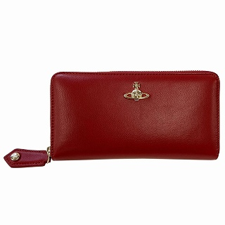 ヴィヴィアン ウエストウッド Vivienne Westwood 51050023/40564 H401 Red ラウンドファスナー長財布 EMMA【r】【新品・未使用・正規品】