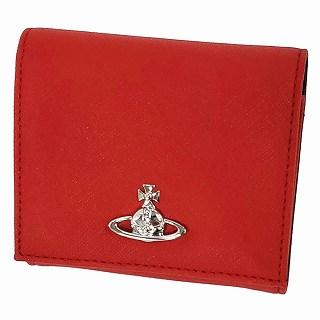 ヴィヴィアン ウエストウッド Vivienne Westwood 51150005 40565 H401 RED 二つ折り財布 EMMA【r】【新品・未使用・正規品】