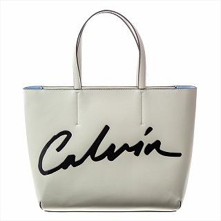 カルバンクライン Calvin Klein K60K606574CI2 トートバック ホワイト【c】【新品/未使用/正規品】