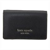 ケイトスペード KATE SPADE  PWRU7854 001 三つ折り財布 ブラック【c】【新品・未使用・正規品】