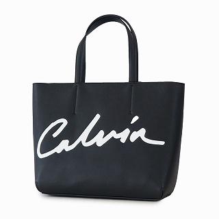 カルバンクライン Calvin Klein K60K606574BDS トートバッグ ブラック筆記ロゴ【c】【新品/未使用/正規品】