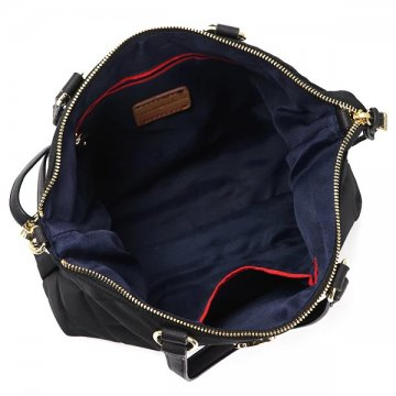 TOMMY HILFIGER Tommy Hilfiger 6930724 BLACK 990 black shoulder bag