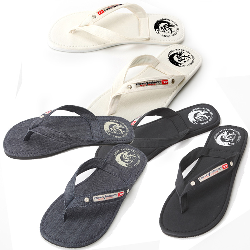 DIESEL diesel flip flops black 00Y753 PR012 T8013 SEASIDE thong Sandals men