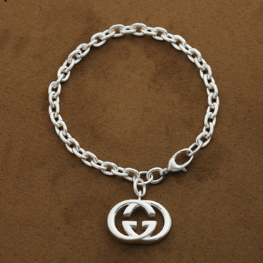 30aec765e9ba GUCCI Gucci interlocking G bracelet 190501 J8400 8106 Britt Silver Bracelet  925 Silver