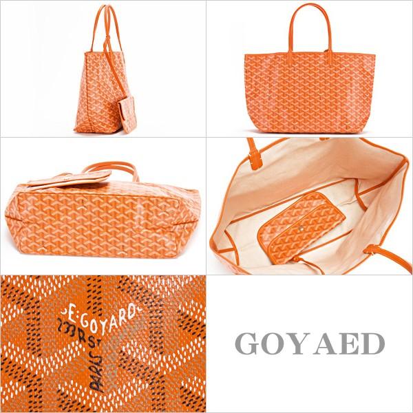 e5f1b36456 Rakuten Ichiba Shop WORLD GIFT cavatina  Goyard bag Tote Bag Orange ...