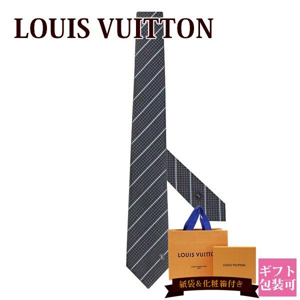 ルイヴィトン ネクタイ LOUIS VUITTON 新品 メンズ クラヴァット・エク 8CM アントラシット M78758 ギフト
