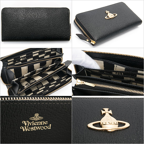 Vivienne Westwood (VivienneWestwood) wallets purses women's zip EXECUTIVE ORB 3118C9A
