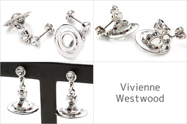 ヴィヴィアンウエストウッド Vivienne Westwood ピアス レディース ぶらさがり アクセサリー プチオーブ Pee Orb Earrings シルバー 1467