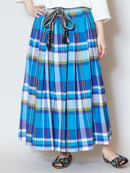 チャイハネ 公式 《リカーチェスカート》 エスニック アジアン ファッション スカート IDS-9205