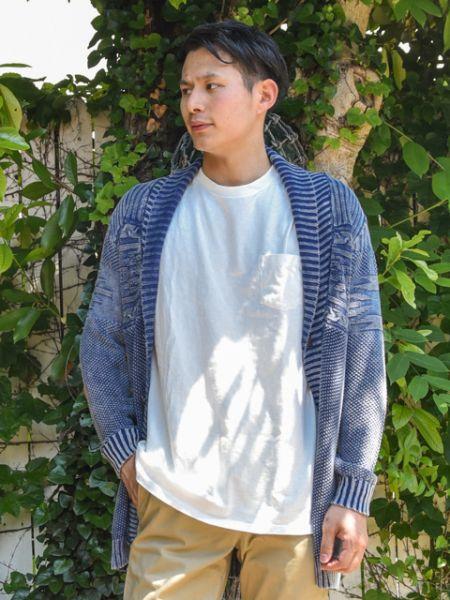 Kahiko 公式 《カイキメンズカーデ》 カヒコ ハワイアン ファッション カーデ/羽織り 4CW-9303