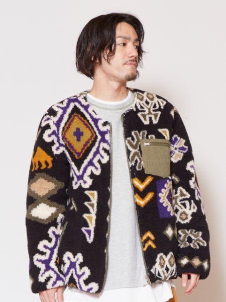 【SALE】チャイハネ 公式 《マラケシュメンズジャケット【リバーシブル】》 エスニック アジアン ファッション アウター/羽織り CCK-9305