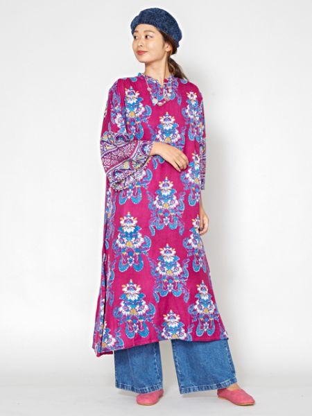 チャイハネ 公式 《ラビリスワンピース》 エスニック アジアン ファッション ワンピース IAC-9324