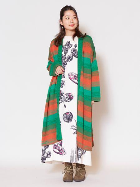 チャイハネ 公式 《ミナカラカーデ》 エスニック アジアン ファッション アウター/羽織り CWH-9311