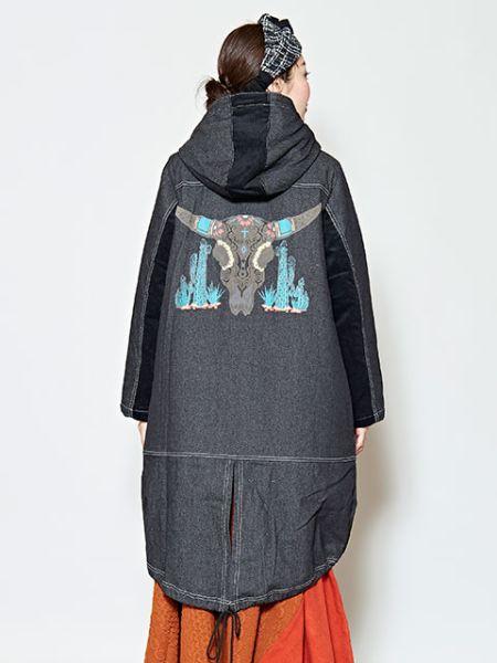 【SALE】チャイハネ 公式 《カクタクコート》 エスニック アジアン ファッション アウター/羽織り CAS-9318