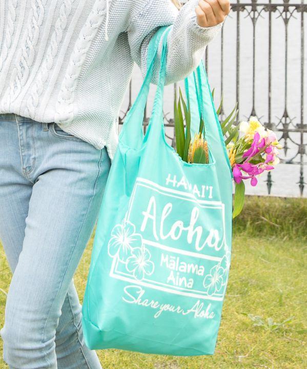 Kahiko カヒコ 公式通販 ファッション雑貨 バッグ 公式 アロハレインボーエコBAG 公式 45FP1101 ハワイアン 年間定番 2202644976019