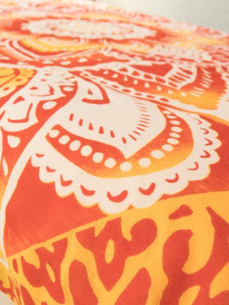 チャクラマンダラベットカバー(シングル) エスニック チャイハネ 公式 ISAP81B87つのチャクラカラーをイメージしたマルチクロス。大胆に広がる曼荼羅デザインが、お部屋をぱっと明るく彩ります。