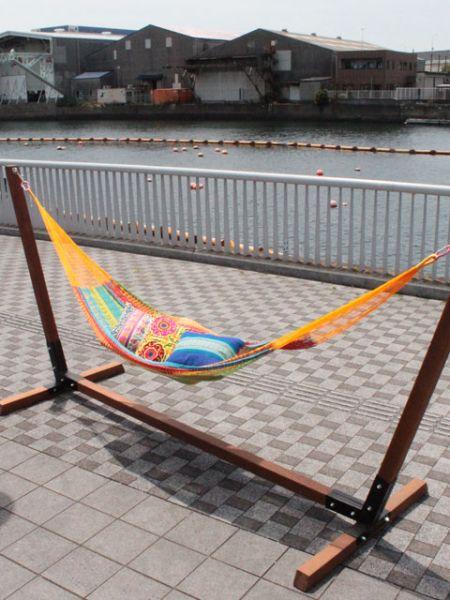 【当店限定販売】 メキシカンハンモックMチャイハネ 公式 エスニックMXXP5601メキシコ製の本格マヤハンモックです 公式。伝統的な手織りで作られてます。※スタンドは付いておりません。, リスプロショップ:45ec3cbb --- supercanaltv.zonalivresh.dominiotemporario.com