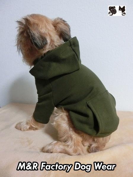 ショップ 犬服 わんこ服 ドッグウェア 普段着にお出掛けに フード袖付 生地再入荷 普段着に カーキ裏起毛袖 フード ポッケ付Tmrfw0317 数量は多 #ペチャ #チワワ #ボストンテリア #マルチーズ #パグ #トイプードル #フレンチブルドッグ #犬服通販 #小型犬 #ヨーキー