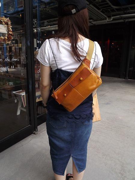 【NEW】ソフトレザー・ボディ・ウエストバッグwa037#バッグ通販#男女兼用#斜め掛け#肩掛け#旅行#シンプル#レディース#メンズ#ウエストバッグ