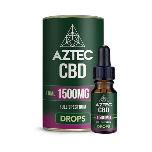 CBDV、CBG、CBC、CBN など CBD 以外のカンナビノイドが豊富に含まれたフルスペクトラム製品です。 【20%OFFクーポン有】CBD オイル/15%(1500mg)アステカ CBD オイルドロップス 10ml / AZTEC CBD Oil Drops