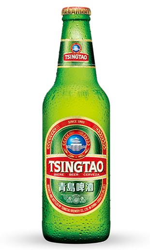 青島(チンタオ)ビール (瓶) 4.5% 330ml ピルスナー タイプ 中国